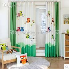 Baby Curtains Wholesale Pastoral Owl Room Curtain Window Curtain