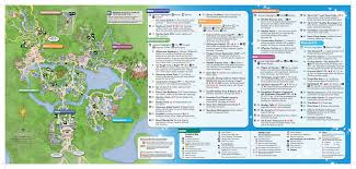 magic kingdom disney map map of disney mousehints