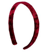velvet headband burgundy velvet headband icing us