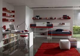 small bedroom office design ideas light brown headboard white blue