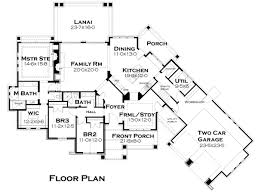 Ranch House Plan With 3 Bedrooms And 2 5 Baths Plan 4320 House Plans With Lanai