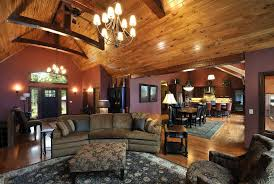 Living Rooms With Area Rugs Rustic Chic Furniture Living Room With Area Rug Faux Leather