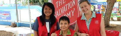 Salvation Army Volunteer Thanksgiving Hawaiian And Pacific Islands Division Volunteer