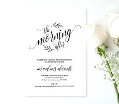 day after wedding brunch invitations wedding brunch invitations plus party invitation day after wedding