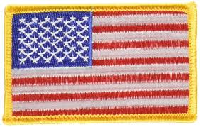 American Flag Morale Patch Amazon Com Wrights Iron On Appliques American Flag 2