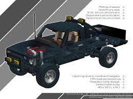 future military jeep toyota sr5 4x4 back to the future all in lego autoevolution