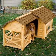 Large Barn Barn Dog House Weather Resistant Wood Extra Large Outdoor Shelter