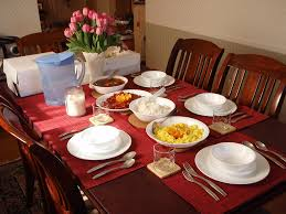 how to set a table for breakfast simple valentines day brunch setup styleanthropy at home valentine s