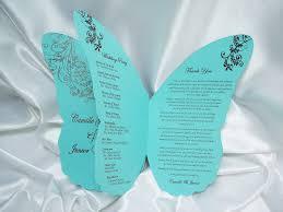 butterfly wedding invitation cloveranddot com