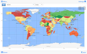 Rio On World Map World Atlas U0026 World Map Mxgeo Android Apps On Google Play
