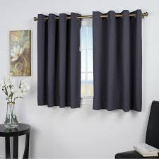 Curtains 46 Inches Ultimate Blackout 45 Inch Length Grommet Curtain Panel Free