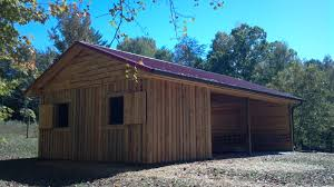 Design Your Own Pole Barn Natural Wooden Barn Construction Plans That Has Simple Design Can