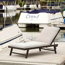 Patio Furniture Lounge Chair Amazon Com Florida Adjustable Chaise Lounge With Cushion Patio
