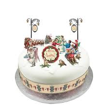 Christmas Cakes Decorations by Victorian Christmas Cake Decorations