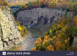 Letchworth State Park Map by Autumn Color Reflections State Forest Stock Photos U0026 Autumn Color