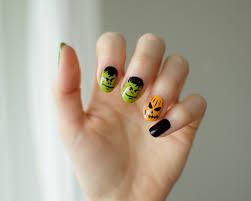 halloween nail art julia puolitaival