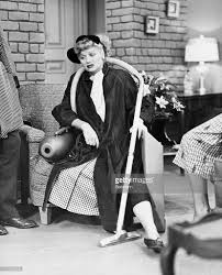 lucille ball with vacuum cleaner in i love lucy pictures getty