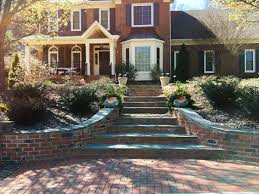 Tile Tech Pavers Cost by Exterior Makeover With Clay Paver Walkways Steps And Drives