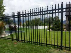 pin by chainlink ornamental iron fence supply and install utah on