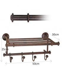 Wrought Iron Bathroom Shelves Our Catalog Bathroom Towel Rack With Shelf Of Iron