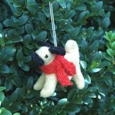fox terrier christmas tree decoration u2013 large support dogs