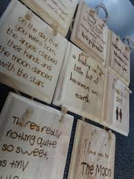 baby plaques baby christening gift wooden engraved plaques various sayings