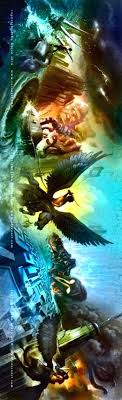 series new book cover the lighting thief sea monsters titan curse battle labyrinth percy jackson lightning