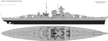 the blueprints ships battleships germany dkm bismarck