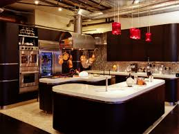 kitchen charming modern restaurant kitchen design chef table