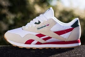reebok classic nylon r13 red green u0026 brass shoes pinterest