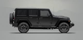 black jeep 2017 2017 jeep wrangler and wrangler unlimited smoky mountain
