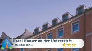 hotel hauser an der universitat munich hotel hauser an der universität münchen hotels germany