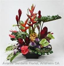 florist ta ta 11 tropical flowers in a modern arrangement flowers and colors