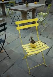 Yellow Bistro Chairs 18 Best Garden Chairs Yellow Images On Pinterest Lawn Chairs