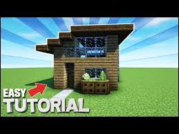 How To Build A Small House Minecraft How To Build A Small Survival Starter House U2013 Free