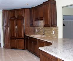 Small Kitchen Sink Cabinet Furniture Small Kitchen Design With Starmark Cabinetry And Under