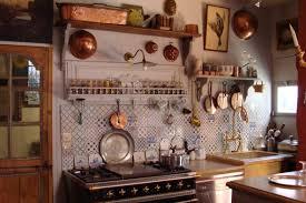retro country kitchen decor vintage bar stools white drawer unit