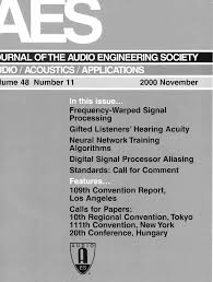 aes e library complete journal volume 48 issue 11