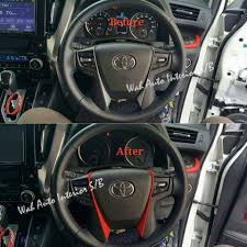 dalam kereta vellfire car cushion u0026 interior beauty service home facebook