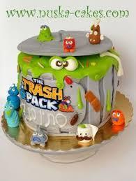 halo torta trash pack cake cakes halo torta