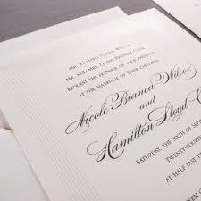 vera wang wedding invitations vera wang large wedding invitations