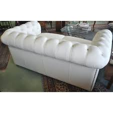canap chesterfield cuir 2 places canape chesterfield cuir blanc canapac 2 places neuf en cassac