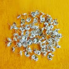 silver flowers coated flowers for lakshmi devi pooja 108 flowers