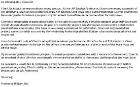 top 6 college recommendation letter templates u2013 collegerag net