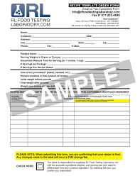 Nutrition Facts Label Worksheet Canadian Nutrition Labels Accurate Health Canada Approved