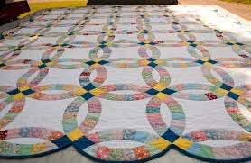 wedding dress quilt uk wedding ring quilt history from yesterday to today