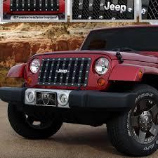 power wheels jeep wrangler e u0026g classics 2007 2016 jeep wrangler grille e power grille fits 2