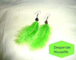 how to make feather earrings how to make beaded feather earrings diy