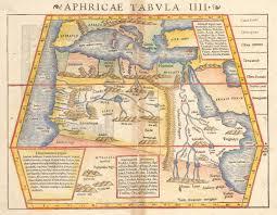 africa e asia mappa africa tabula iiii by munster 1550 hjbmaps hjbmaps