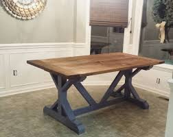 Ana White Truss Coffee Table Diy Projects by Diy Farmhouse Table Build Best Made Plans Pinterest Diy